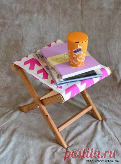 Простой складной стульчик — Сделай сам