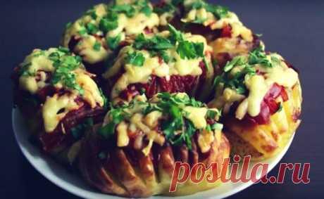 Картофель в духовке. Вкусно, просто и оригинально!