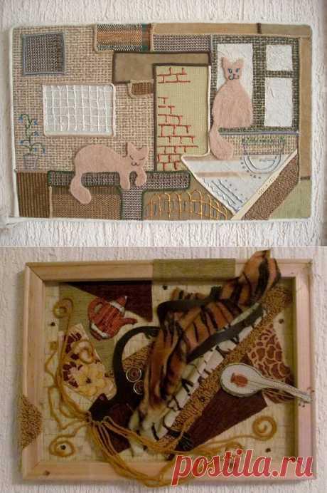Картины из ткани / Другие виды рукоделия / PassionForum - мастер-классы по рукоделию