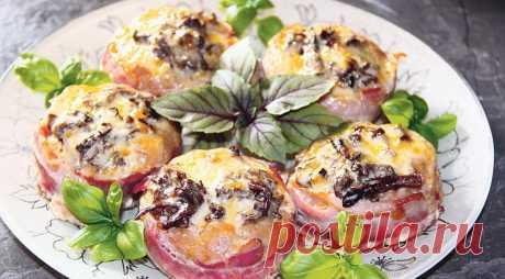 Закуска «Лукошки» Весьма нарядная закуска, которая отлично впишется в праздничное меню.