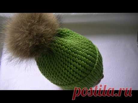 Женская шапка и манишка спицами. Работы Alise Crochet, Вязание для женщин