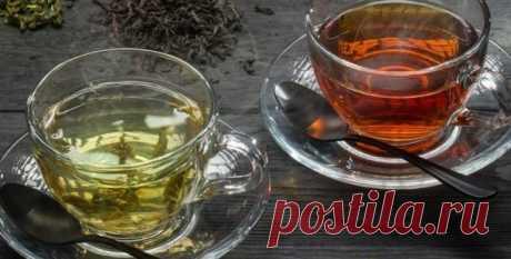 Какой чай, зеленый или черный, может повышать артериальное давление?