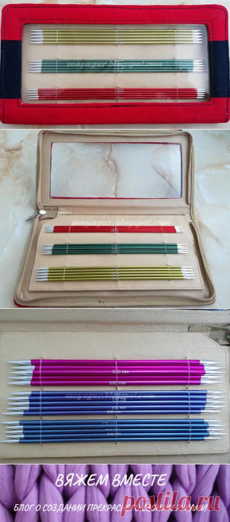 Вяжем вместе: Чулочные спицы «Double Pointed Needles Set (20)» от KNIT PRO в наборе