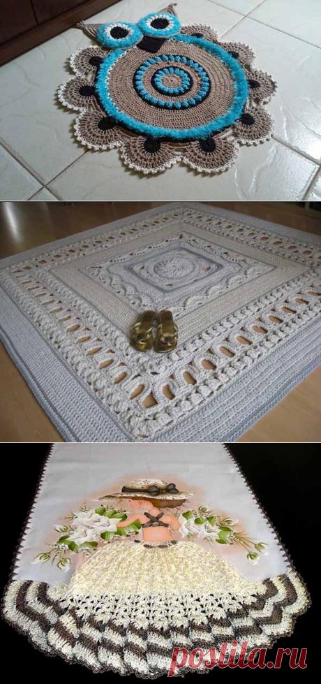 Вязание для дома: 35 фото и схемы