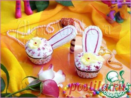 """Капкейки """"Туфельки для маленькой принцессы"""" - кулинарный рецепт"""
