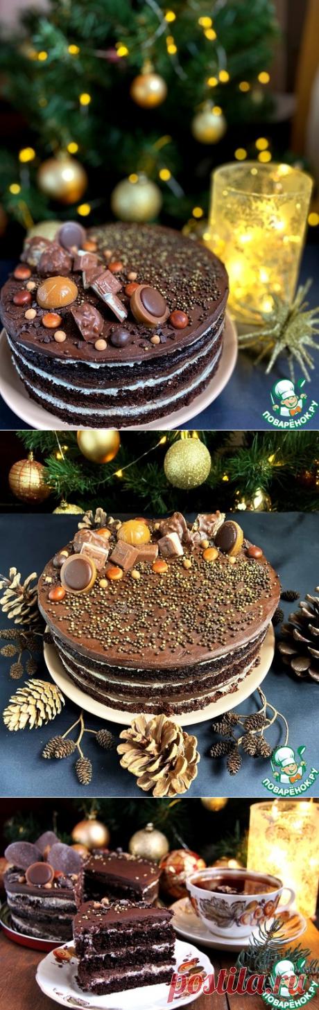 """Торт """"Токсидо"""" – кулинарный рецепт"""