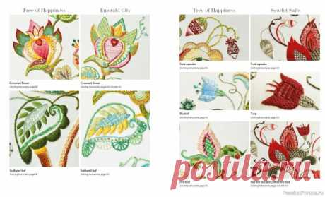 книга Crewel Embroidery: 7 Enchanting Designs Inspired by Fairy Tales   Другие виды вышивки