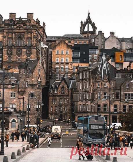 Эдинбург – столица Шотландии