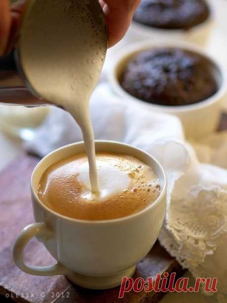 Осень, утро, кофе — замечательное начало нового дня!