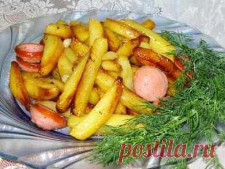 Обалденная жареная картошечка - бабушкин рецепт