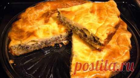 Кулинария >Мясной пирог от Ирины Аллегровой