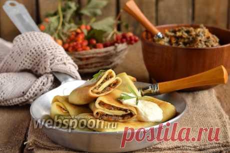 La segunda elección a las Carnestolendas: ¡15 recetas de los crepes con el relleno y vkusneyshih de las tortas de los crepes!