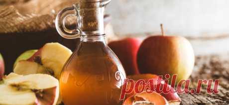 Яблочный уксус сдерживает тягу к сладкому