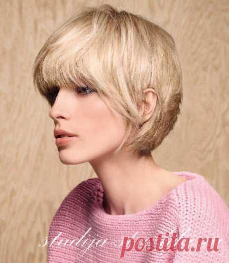 Стильные стрижки на короткие волосы   Стрижки и Прически