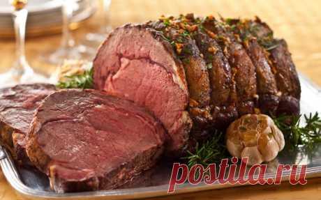9 secretos para vkusneyshego de la carne en el horno. La receta de la carne de cerdo jugosa es aplicada