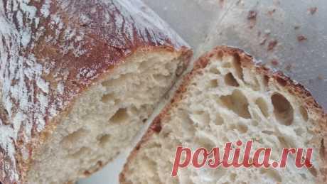 Сидим дома? Печем хлеб сами без усилий. Вечером перемешал - утром испек. Всего 5 ингредиентов | Lisanna | Яндекс Дзен