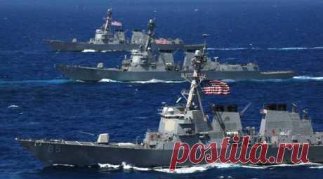 "In a network video as Russian \""glushilka\"" appeared humiliated the American fleet"
