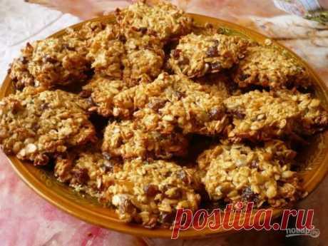 Печенье с бананом и овсяными хлопьями - пошаговый рецепт с фото на Повар.ру