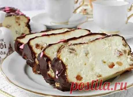 Готовим изумительно вкусный десерт к чаю или кофе!