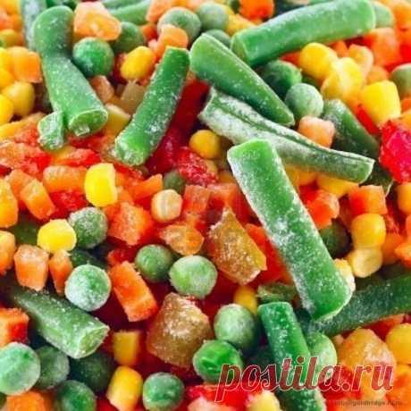 5 овощей, которые полезны замороженными — Мегаздоров