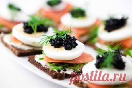 Новогодние рецепты: Канапе с яйцом и семгой - Рецепты. Кулинарные рецепты блюд с фото - рецепты салатов, первые и вторые блюда, рецепты выпечки, десерты и закуски - IVONA - bigmir)net - IVONA