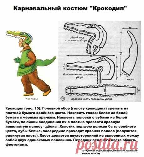 """Карнавальный костюм """"Крокодил"""""""