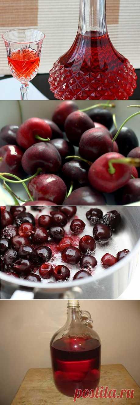 Рецепт Домашнее вино из вишни с фото в домашних условиях