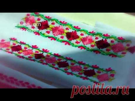 Embroidery: Decorative Stitches|Вышивка:Декоративные стежки|Bordado:Puntadas decorativas