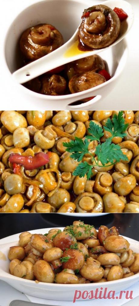 Любите пикантные закуски? Приготовьте шампиньоны по-корейски! — Вкусные рецепты