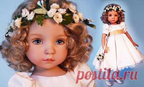 Удивительно нежные куклы Дианы Эффнер (Dianna Effner) | Интересные идеи для вдохновения