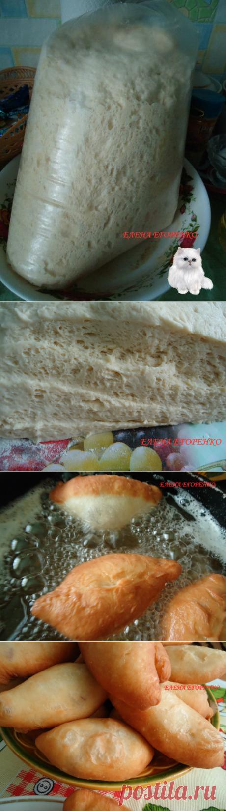 Дрожжевое тесто по рецепту Натальи Тихоновой