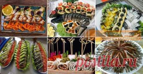 Рыбная нарезка на праздничный стол Рыбная нарезка смотрится шикарно и объемно даже если использовать два-три вида рыбы