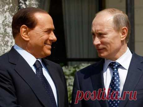 Берлускони возможно стнет послом России в Ватикане / Рулента
