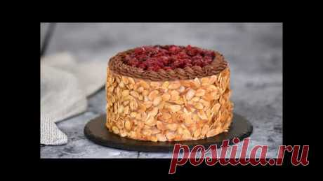 Шоколадный Торт с Вишней (Ингредиенты под видео)