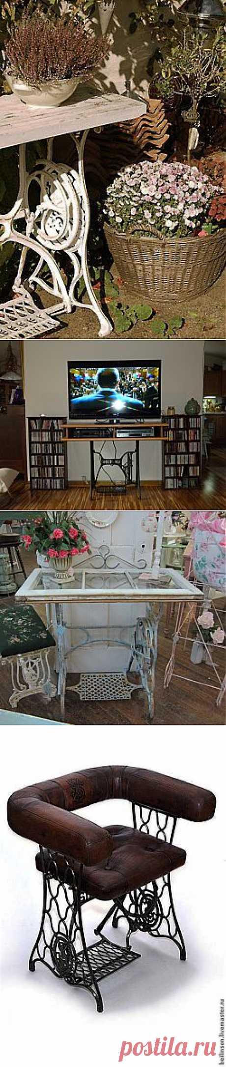 Декор старой швейной машинки. Идеи и воплощения - Ярмарка Мастеров - ручная работа, handmade