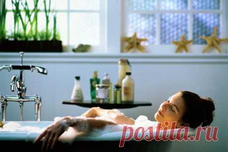Содовые ванны для похудения.
