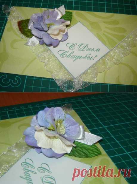 Цветок из гортензий