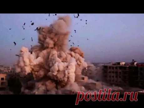 Точный удар российской авиации ВКС в Сирии
