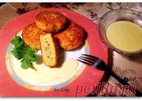 (11) Котлеты из двух видов рыб со сливочным соусом - пошаговый рецепт с фото. Автор рецепта Елена Крукчи . - Cookpad