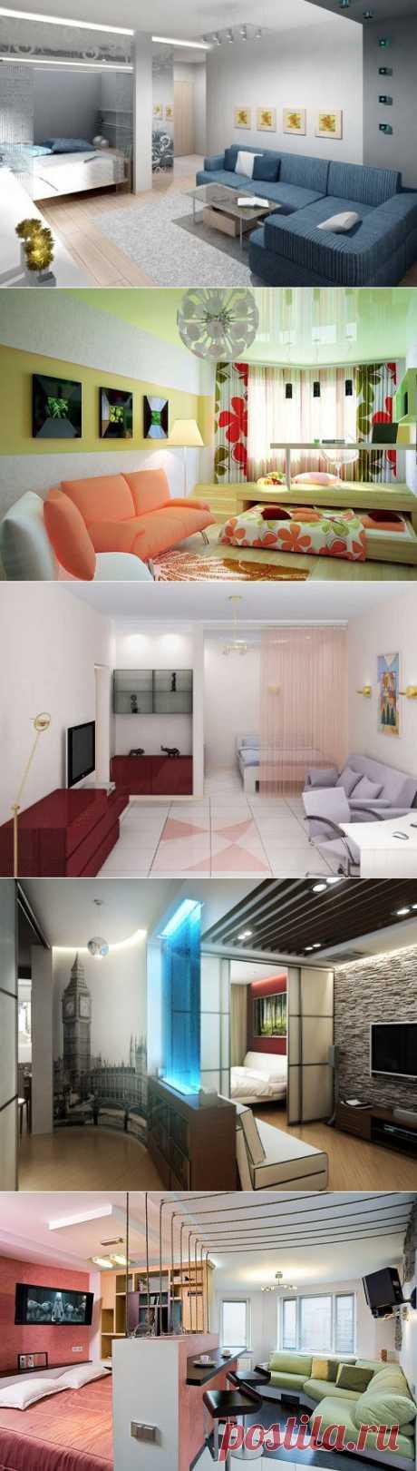(+1) тема - Как отделить спальню в однокомнатной квартире | МОЙ ДОМ