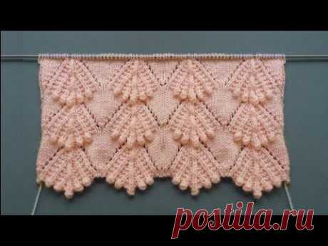 Haroşalı Tomurcuklar Süpürge Örgü Modeli Yelek Örnekleri #247 /Knitting Patterns/Strickmuster