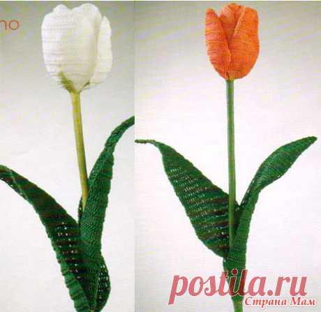 Вязаные цветы | Записи в рубрике Вязаные цветы | Дневник Katerina-M