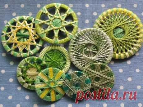 Дорсетская пуговица (Dorset buttons) | Другие виды рукоделия