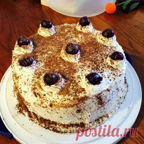 Шварцвальдский вишневый торт - топовый среди тортов - ФотоРецепт - медиаплатформа МирТесен