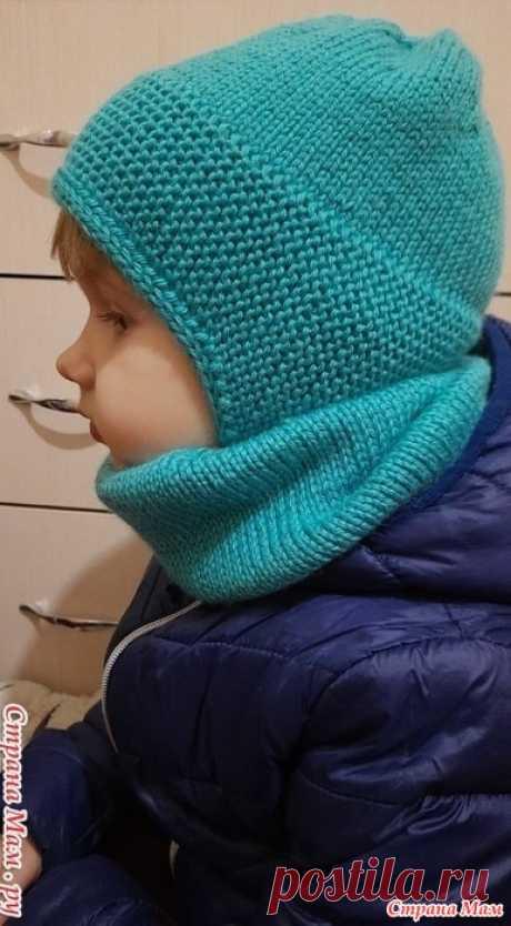 Детская шапочка. МК  для ребёнка 3-4 лет.  Нижняя планка вяжется отдельно, из неё поднимаем петельки и вяжем верх шапочки.