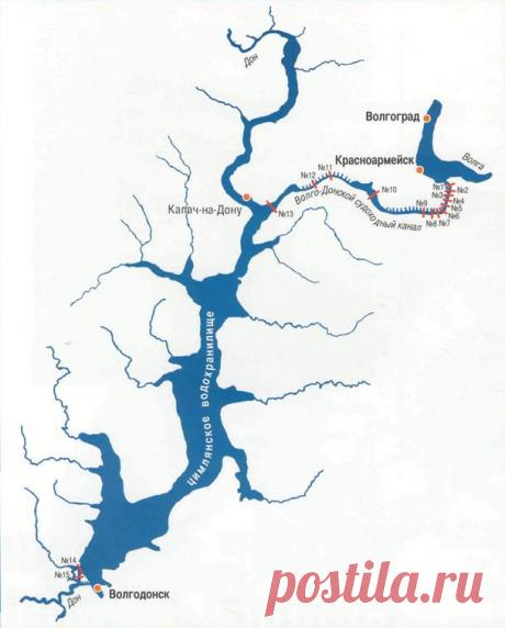 Немного о Цимлянском водохранилище | Популярная наука | Яндекс Дзен