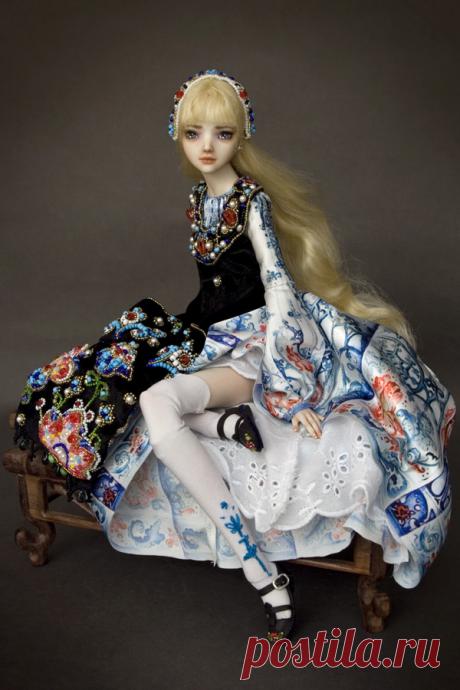 Куклы Марины Бычковой: за фарфоровых красавиц коллекционеры готовы отдавать миллионы рублей   АРТИзба   Яндекс Дзен