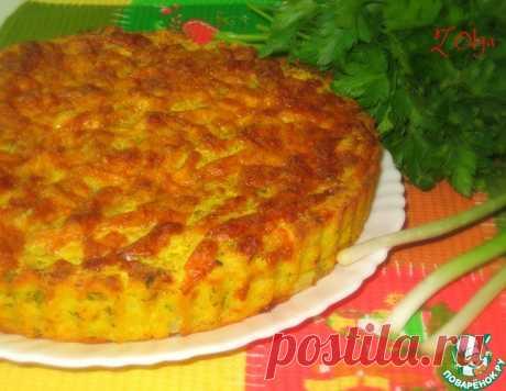 Яркий луковый пирог – кулинарный рецепт