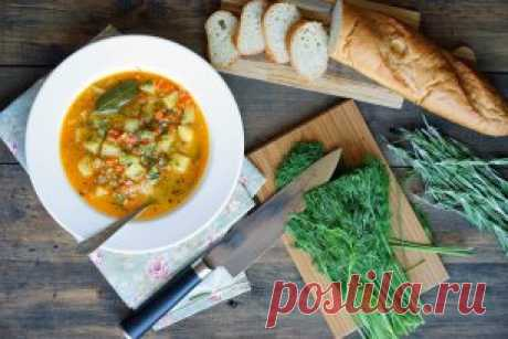 Easy French soup \u000aTo look and prepare: ➤ ➤ ➤ youtube.com\/watch?v=3GZI0-51AGI\u000aPledge of good soup are vegetables, several herbs and spices, broth and love. If it is correct to make everything, then soup will be bright and fragrant. This recipe - excellent base for experiments, and taste will be estimated by both adults and children.