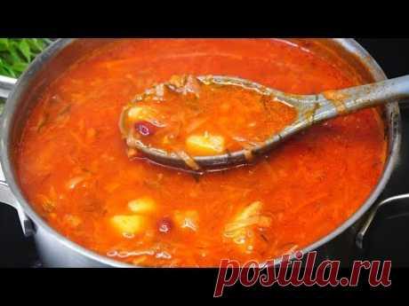 Такой Суп на второй день Еще вкуснее! Прям советую приготовить - YouTubeБорщ с бычками в томате, с фасолью.